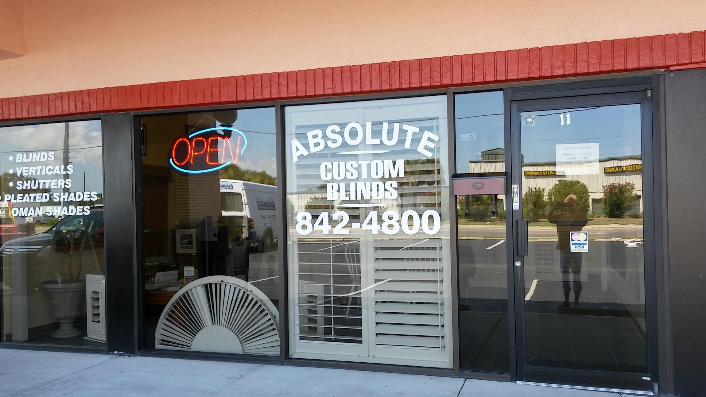 Absolute Custom Blinds Storefront